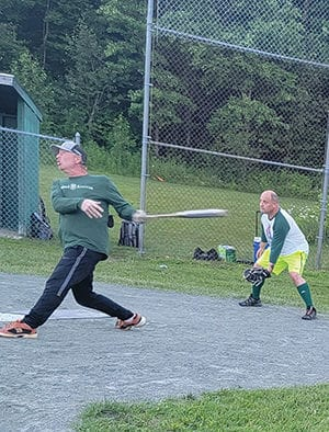 Defending champions lead early in the Chittenden Softball League