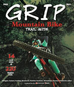 2021 GRIP: Mountain bike trail guide