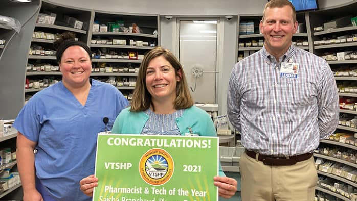 Two staff at RRMC named 2021 Pharmacist and Pharmacy Technician of the year