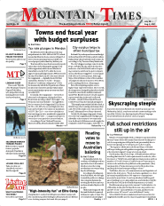 Mountain Times – Volume 50, Number 30 – July 28- Aug. 3, 2021
