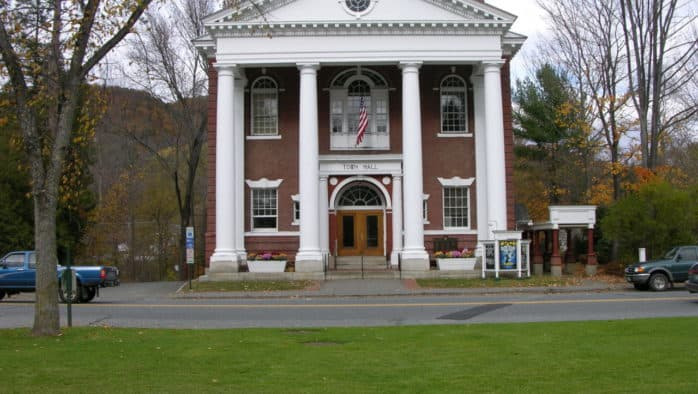 Woodstock Select Board approves conceptual designs for town hall renovation project