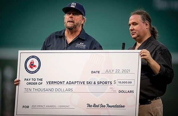 Vermont Adaptive Ski & Sports named Vermont winner in Red Sox grants addressing mental health in New England