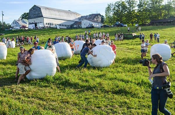 NOFA-VT Hosts 6th Annual Farmer Olympics at Honeyfield Farm