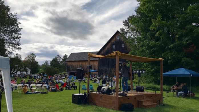 Labor Day weekend the Calvin Coolidge State Historic Site in Plymouth Notch comes alive with authentic folk and blues music