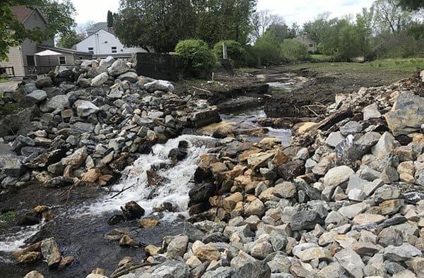 VNRC begins Dunklee Pond Dam removal in Rutland