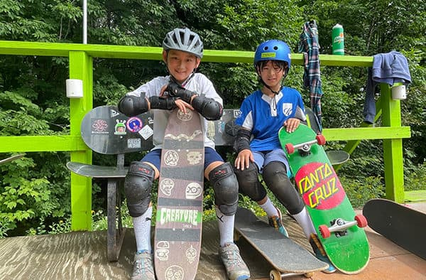 Darkside's summer skateboard camp introduces kids to a new passion