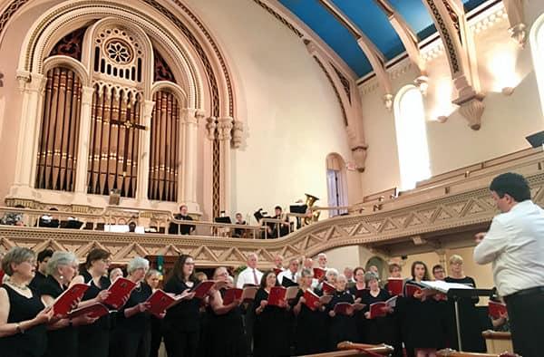 Grace Congregational Church announces fall/winter music season