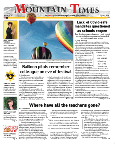 Mountain Times – Volume 50, Number 35 – Sept. 1-7, 2021