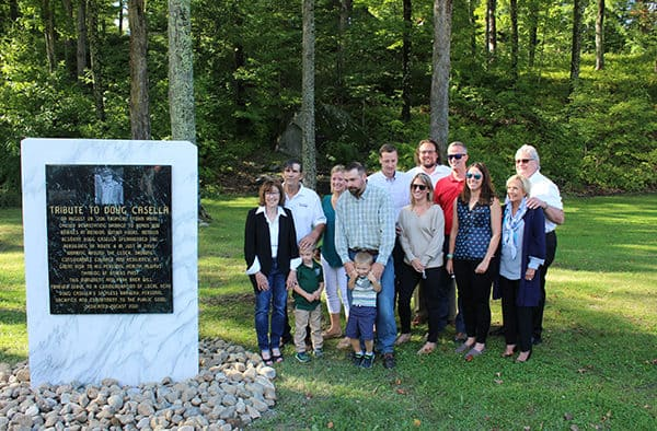 Mendon, Gov. Scott honors Doug Casella
