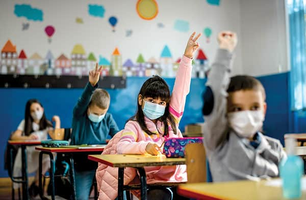 With children in school, one issue dominates