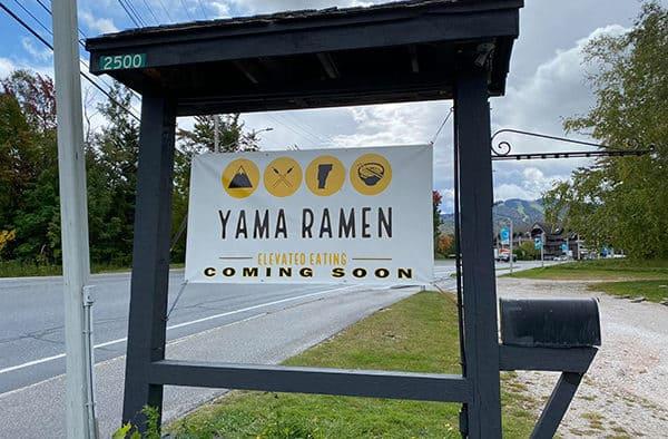 Ramen eatery to open on Killington Road