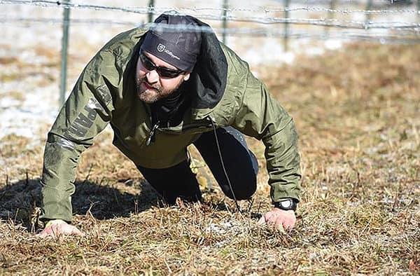 Ian MacLauchlan prepares for Killington Spartan Ultra