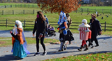 A family Halloween at Billings Farm & Museum