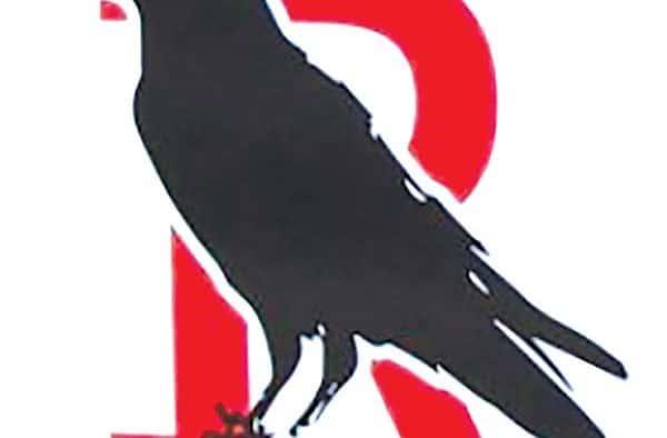 Ravens mascot remains