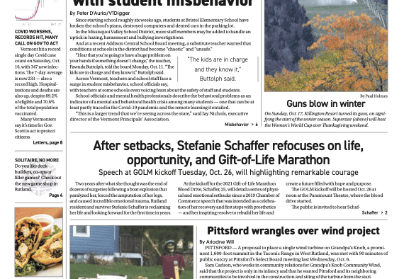 Mountain Times – Volume 50, Number 42 – Oct. 20-26, 2021